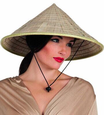 Asiatischer Kegelhut für Erwachsene - Asiatischer Strohhut