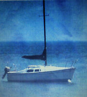 Privateer 21 ft Sailboat with retractable keel