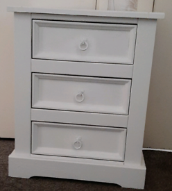 One Solid Wood Bedside Drawers