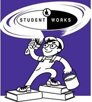Student Works Painting Marketing Job