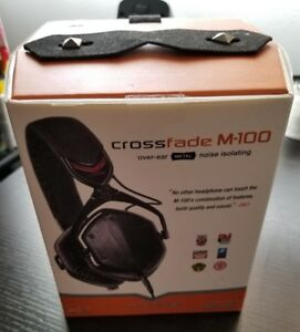 V-MODA Crossfade M-100 Headphone, ITB, Like New