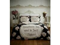 flannelete duvet set...king
