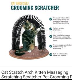 Brand new cat self scratching bristle arch