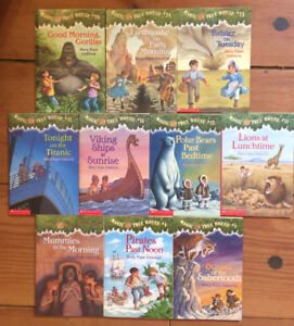 MAGIC TREE HOUSE chapter books 10 for $15