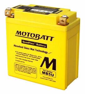 New MOTOBATT BATTERY for BAJAJ KB 100,Spirit 50 1993-2002 | BENE