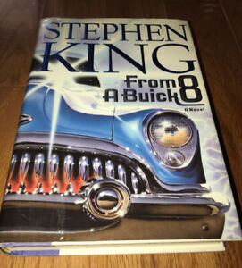 Stephen King FROM A BUICK 8 Hardcover Dust Jacket Clean Copy