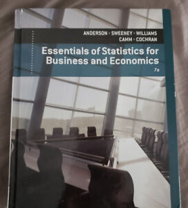 SALE!!! - Statistics for Business and Economics. Anderson, D