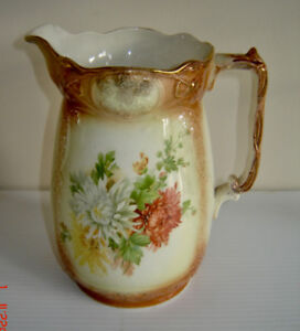 Antique Staffordshire Grimwade Brothers  Water Pitcher - c.1990