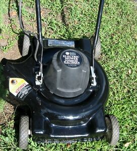 Electric Lawnmower - not cordless