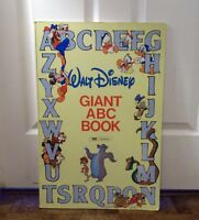 Giant 1989 Walt Disney ABC Book‏