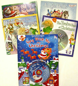 CHRISTMAS HOLIDAY SINGALONG BOOK & CD COLLECTION! Windsor Region Ontario image 1
