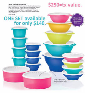 TUPPERWARE items. NEW in package Prices on Pics