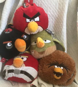 Star Wars Angry Birds Pillows Plush