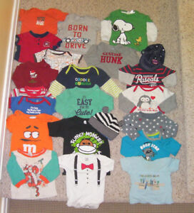 3-6 months baby boy's clothing (over 90 pieces)