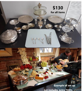 Assorted silverware for home, events, weddings