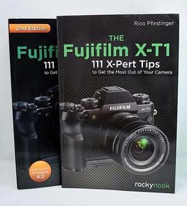 Fujifilm X-T1 Books - '111 X-Pert Tips', '11 X-Pert Tips 2nd Edition' & 'Feature Guide'