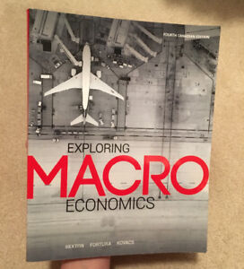 Exploring Macroeconomics - fourth Canadian edition