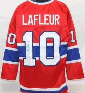 Guy Lafleur signed jersey
