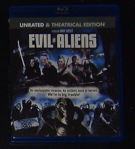 EVIL VS ALIENS bluray