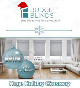 HUGE Holiday Giveaway! WIN your window treatments!*
