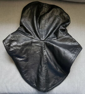 Leather Neck Warmer/Protector