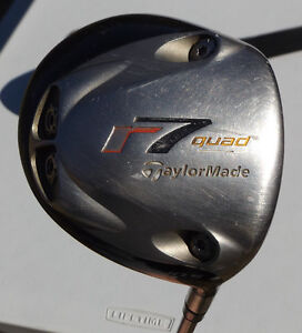 Taylormade R7 Quad Driver. Men's Right Hand Golf Club