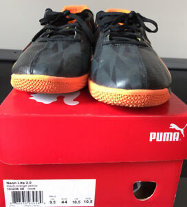 Puma Brand Indoor Soccer Shoes - Size 10.5