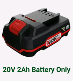 Parkside 20V 2Ah Battery, Fits All X20V Team Series Cordless Tool