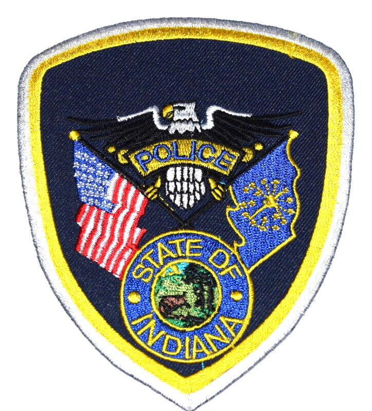 INDIANA POLICE IN Sheriff Police Patch GENERIC INDIANA PATCH ~
