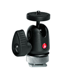 Manfrotto - 492 Micro Ball Head with Hot Shoe Mount
