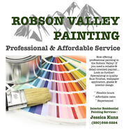 Now offering Professional Painting in the Robson Valley!