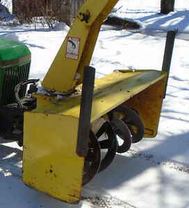 John Deere 47 Snowblower. Two stage.