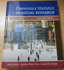 LAW BOOKS - Elementary Statistics in Social Research