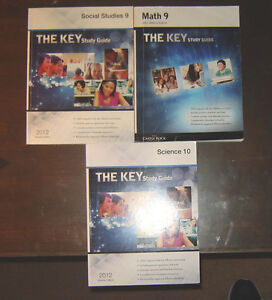 The KEY Study Guide  - Social 9, Math 9, Science 10