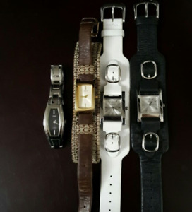 Lot of 4 Guess Watches Ladies