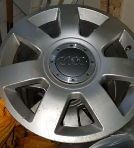 Audi OEM Rims Winter Tires Wheels