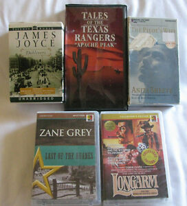 Audio Book Collection 5 Different Sets Preowned Cassettes