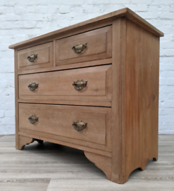 Edwardian Ash Chest Of Drawers (DELIVERY AVAILABLE)