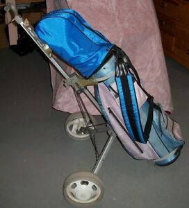 Ladies Left-Handed Golf Set with Bag and Cart