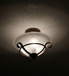 Vintage Style Ceiling Fixtures (pair)