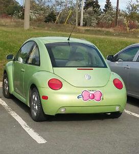 2003 Volkswagen Beetle Green Hatchback