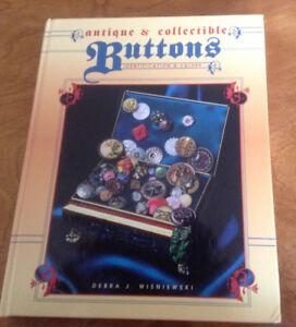 Antique & Collectible Buttons Book, Debra J. Wisniewski