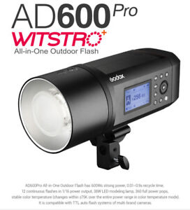 **NEW ** Godox AD600Pro Witstro All-In-One Outdoor Flash
