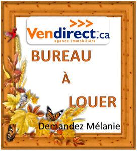 Bureau, espace, local,  commercial à louer St-lin-Laurentides