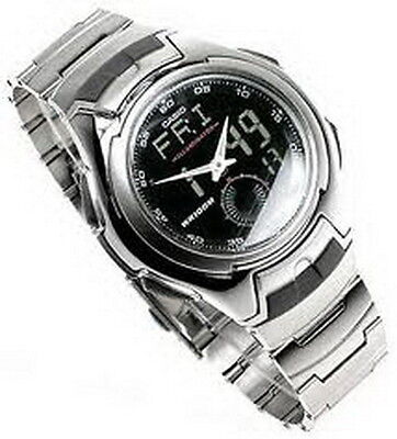 Casio Active Dial Digital-Analog Watch AQ-160WD-1B Casio Mens Active Dial