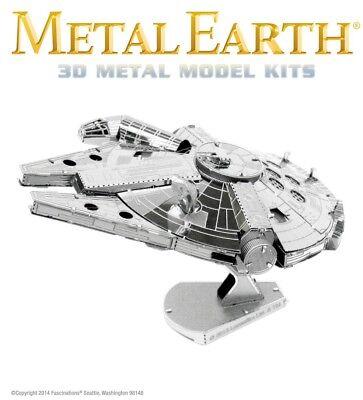 Fascinations Metal Earth Star Wars Millennium Falcon Laser Cut 3D Model