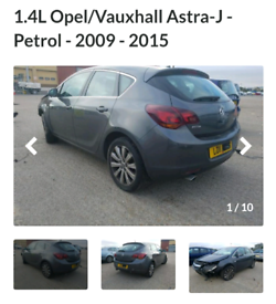 1.4 Astra J Breaking 407 x parts still available @ LiveCarBR com