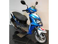 2014 64 SYM AD12W JET 4 125 BLUE SCOOTER PROJECT/TRADE SALE/DAMAGED REPAIRABLE
