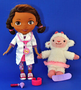 Disney talking DOC MCSTUFFINS with Lambie Plush
