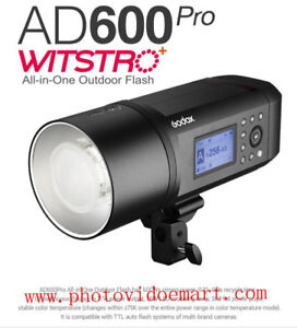 Godox AD600Pro Witstro All-In-One Outdoor strobe